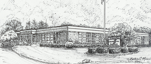 Sullivan Tire Corporate Headquarters Sketch