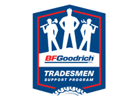 BFGoodrich Tradesman Program Badge